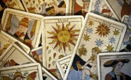 The popular cards of the tarot of Marseille